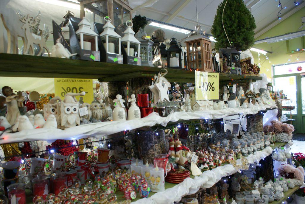 Piękne dekoracje świąteczne