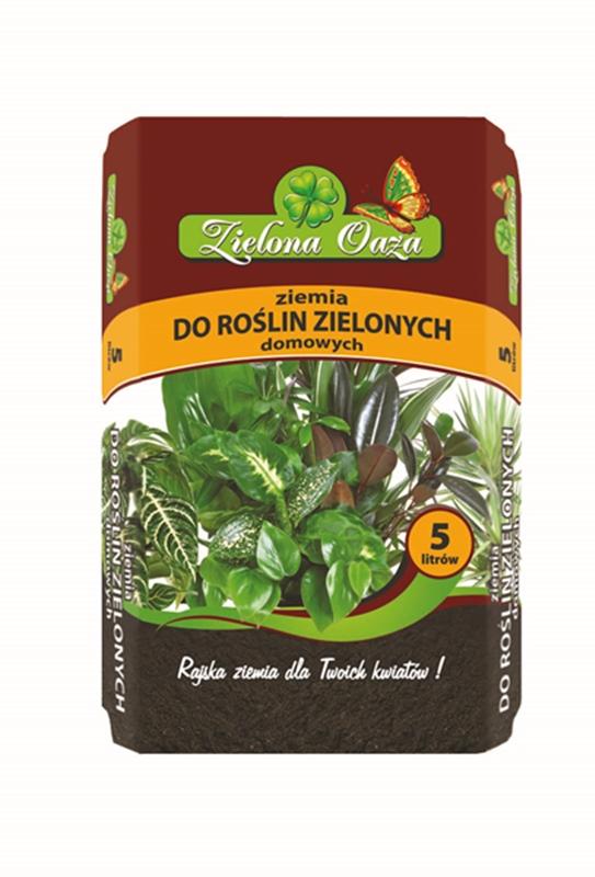 Podłoże do roślin domowych Zielona Oaza