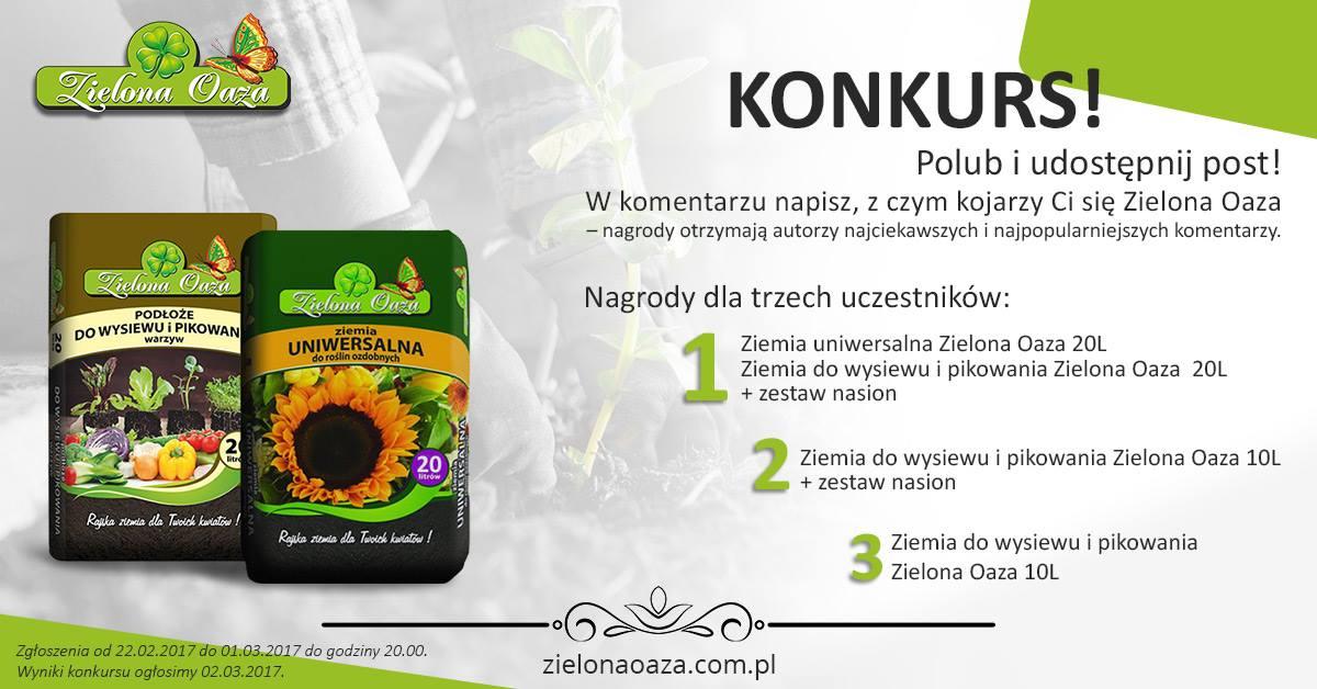 Wyniki konkursu ogrodniczego Zielona Oaza