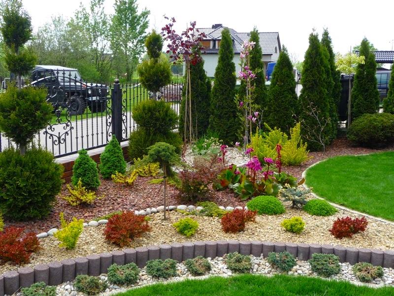 Grysy i kamienie ogrodowe