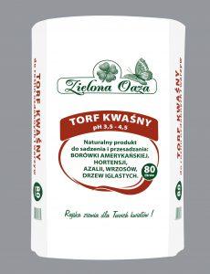 Torf kwaśny pod borówki producenta Zielona Oaza