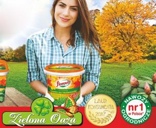 Nawozy jesienne  w sklepach ogrodniczych w Sanoku i Brzozowie