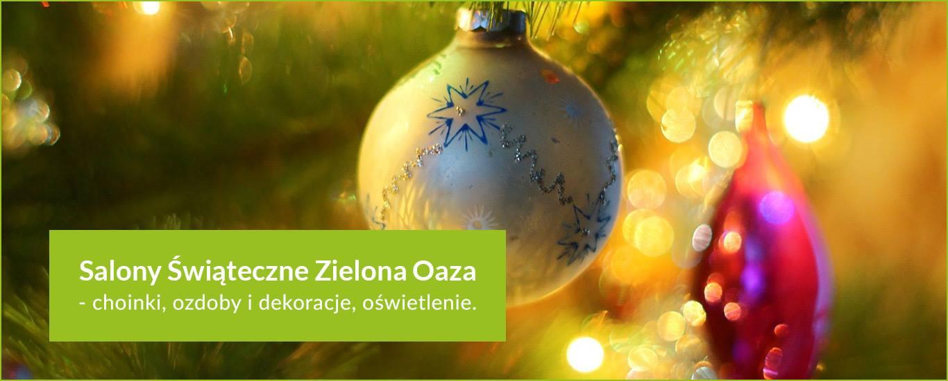 Zielona Oaza – salony świąteczne slide